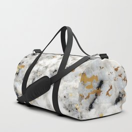 Classic Marble with Gold Specks Duffle Bag