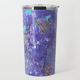Purple and Blue Party! Travel Mug