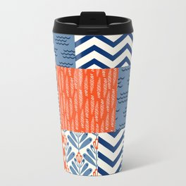Beautiful Patch 8 (Nautical) Metal Travel Mug