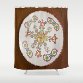 The Ambience Shower Curtain