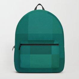 BLOCKS - GREEN TONES - 1 Backpack