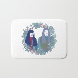 Women and Women First Bath Mat
