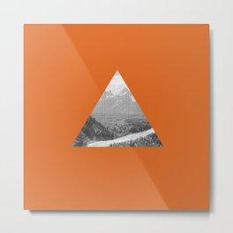 The Triangle Metal Print