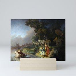 "Rembrandt Harmenszoon van Rijn, ""The Abduction of Europa"", 1632 Mini Art Print"