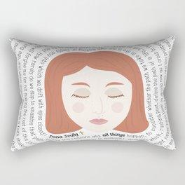 Dana Scully - XF Quotes Rectangular Pillow
