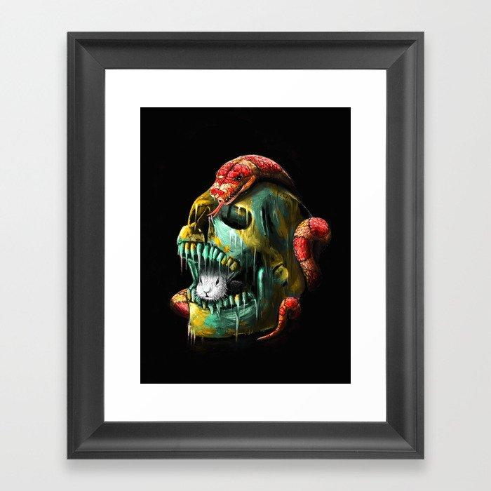 Fear and Desire Framed Art Print