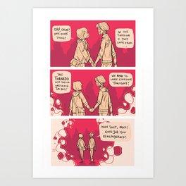 logical conclusion Art Print