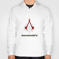 assassins creed Hoodies featuring Creed Assassins  by neutrone