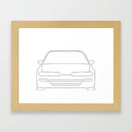 Da9 #1 Framed Art Print
