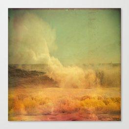 I dreamed a storm of colors Canvas Print