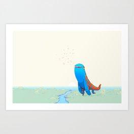 Derp Art Print