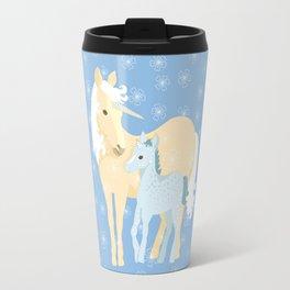 Unicorns. Mom and baby Travel Mug