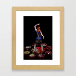 The Sorceress Framed Art Print