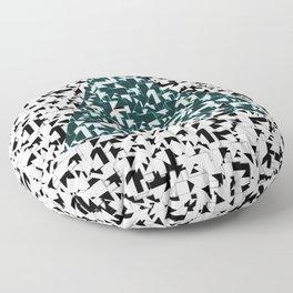The Message Floor Pillow
