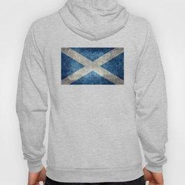 Scottish Flag - Vintage Retro Style Hoody