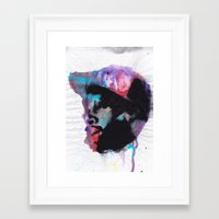 j dilla Framed Art Prints featuring J Dilla - Mystique in Music by Ronny Hash
