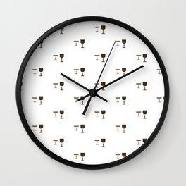 GLASS PATTERN Wall Clock