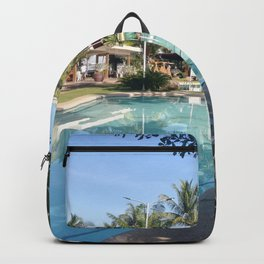 swimming pool in resort Backpack
