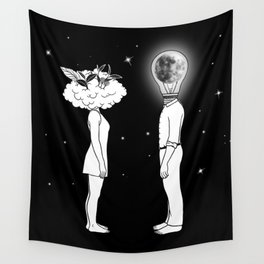 Day Dreamer Meets Night Thinker Wall Tapestry