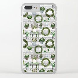 Farmhouse Botanicals Clear iPhone Case