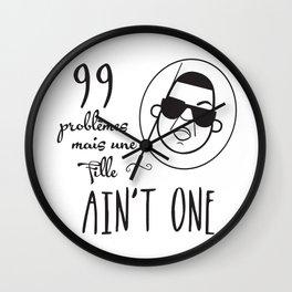 NSL JayZ Wall Clock