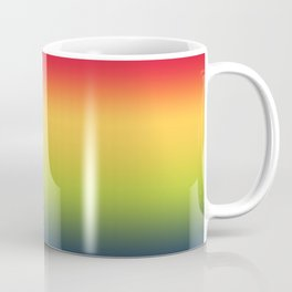 Abstract Colorful Tropical Blurred Gradient Coffee Mug