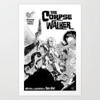 The Corpsewalker #1 Cover Art Print