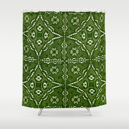 Lace Vintage 14 Shower Curtain