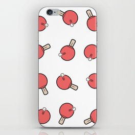 Table Tennis Paddles iPhone Skin