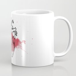 Anatomical heart - Art is Heart  Coffee Mug