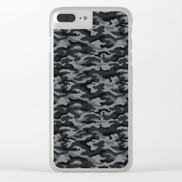 Camouflage Pattern | Camo Stealth Hide Military Clear iPhone Case