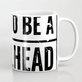 BORN TO BE A METALHEAD Coffee Mug