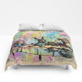 Tea Party Celebration - Alice In Wonderland Comforters