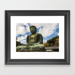 Great Buddha of Kamakura / Daibutsu Framed Art Print