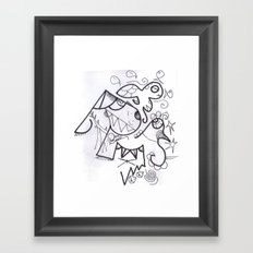 Crazzy IV Framed Art Print