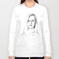 karen Long Sleeve T-shirts featuring Karen Page by Bitterness