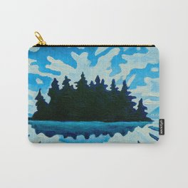 Blue Totem No.2 Carry-All Pouch
