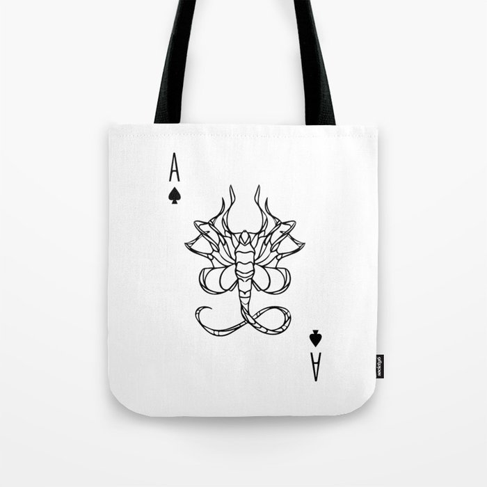 XX121 Ace of Spades Tote Bag