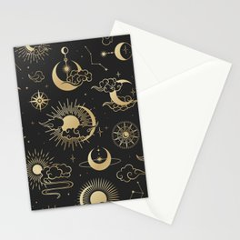 Astronomy Stars Stationery Cards