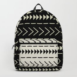 Mudcloth Colorblock Backpack