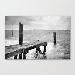 dock it Canvas Print