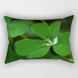 Clover Heart Rectangular Pillow