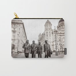 Musician Statue in Liverpool Carry-All Pouch