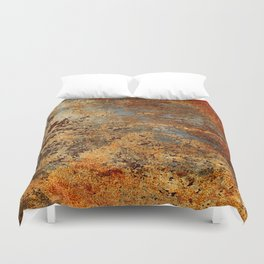 Beautiful Rust Duvet Cover