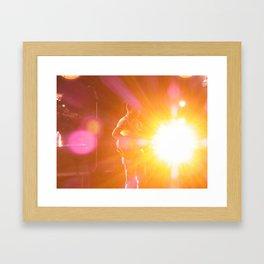 Flicker Framed Art Print