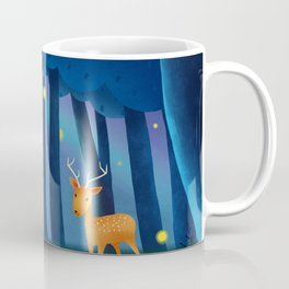 Forest Animals At Night Coffee Mug