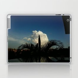 Palm Tree and Cloud Laptop & iPad Skin