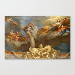 Vaulted Ceilings Of Versailles Canvas Print