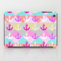 anchors iPad Cases featuring Anchors by Ornaart