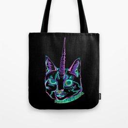 Punk Caticorn Tote Bag